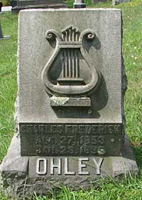 Ohley Family Marker
