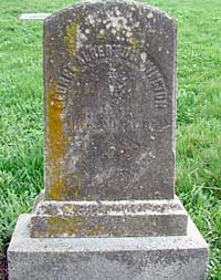 George Albert Dunnington's simple marker